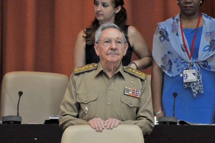 Cette allocution de Raul Castro a été diffusée en différé par la télévision officielle.