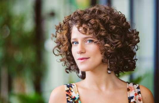 La chanteuse Cyrille Aimée.