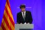 Carles Puigdemont, le président du gouvernement catalan, à Barcelone, le 14 juillet.