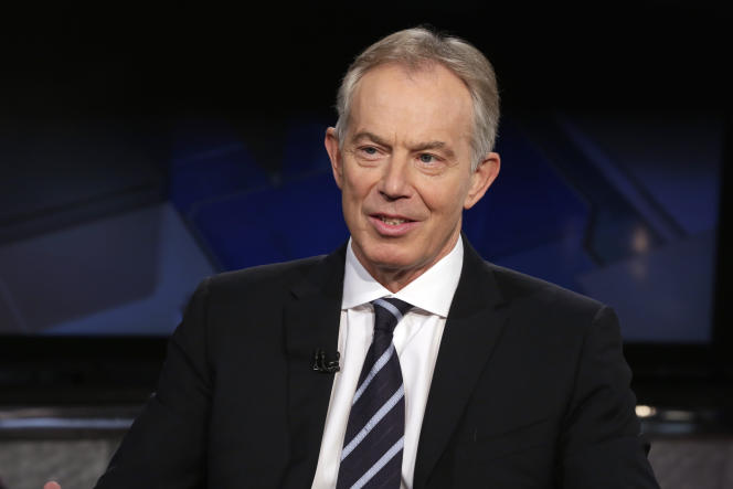 Tony Blair a été premier ministre entre 1997 et 2007.  (AP Photo/Richard Drew, File)