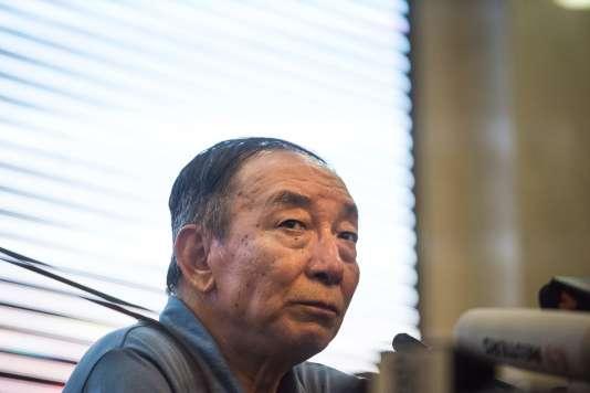 Liu Xiaoguang, frère de Liu Xiaobo, a consacré la vingtaine de minutes devant les caméras à faire l'éloge du Parti communiste chinois.