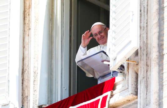 Le pape François le 16 juillet au Vatican.