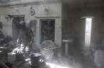 Lors d'une opération des forces antiterroristes irakiennes, dans la vieille ville de Mossoul, le 29 juin.