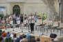 «On aura tout», de Anne-Laure Liégeois et Christiane Taubira sur une proposition de textes de Christiane Taubira dans le cadre du festival d'Avignon a la chartreuse de Villeneuve les Avignon du 8 au 23 juillet 2017.