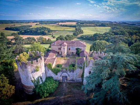 Le manoir de Loubersan racheté par Jean-Charles de Castelbajac en 1996.