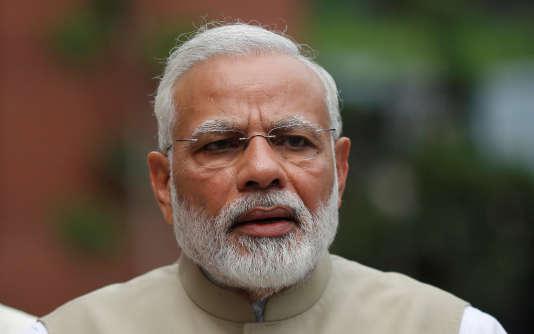 Narendra Modi, le premier ministre indien, en juillet 2017.