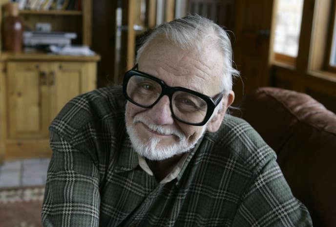 Le réalisateur George A. Romero auSundance Film Festival à Park City (Utah, Etats-Unis), en janvier 2008.