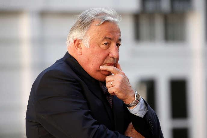 Le président du Sénat, Gérard Larcher, le 17 juillet 2017 à Paris.