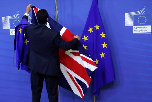 A la Commission européenne à Bruxelles (Belgique), le 17 juillet.