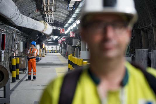 Le laboratoire souterrain de Bure (Meuse), qui permet d'analyser les argiles destinés à recevoir les déchets radioactifs, le 3 octobre 2016.