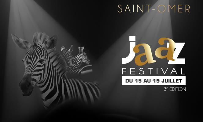 L'affiche de la troisième édition du Saint-Omer Jaaz Festival.