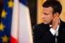 Le président Emmanuel Macron lors d'une conférence de presse à l'Elysée (Paris), le 16 juillet.