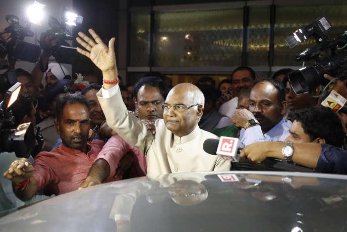 Le dalit Ram Nath Kovind a été élu président de l'Inde, jeudi 20 juillet.