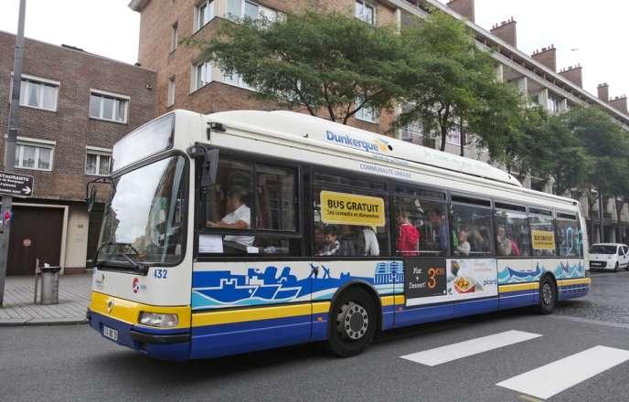 Depuis septembre 2015, les bus sont gratuits dans la communauté de communes du dunkerquois.