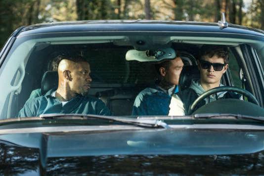 Ansel Elgort et Jamie Foxx dans « Baby Driver » d'Edgar Wright.