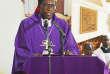L'évêque camerounais Jean Marie Benoît Bala à Bafia, petite commune située à 120 km de Yaoundé.