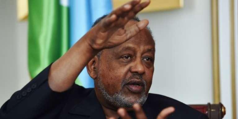 Le président de Djibouti, Ismaïl Omar Guelleh, à Djbouti en mai 2015.