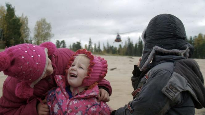 «Braguino», film de Clément Cogitore tournéau cœur de la taïga sibérienne.