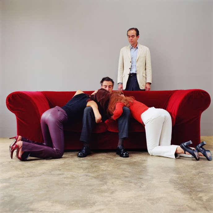 Série Reconstitutions, Pornographie, sans titre, d'Edouard Levé, 2002.