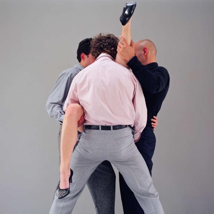 Photos extraites de la série « Pornographie » (2002), d'Edouard Levé.