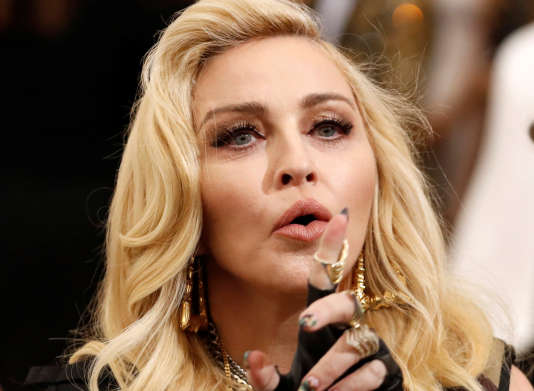 La chanteuse Madonna à NewYork, le 1er mai 2017.