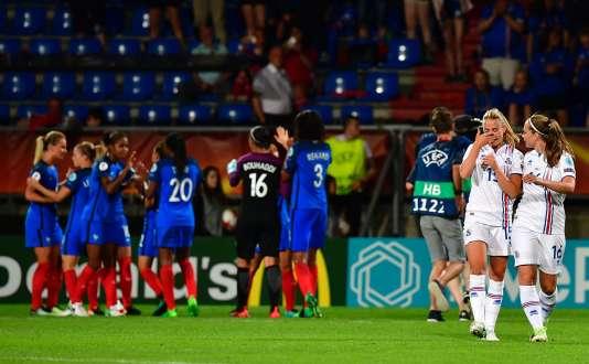 Les Bleues ont remporté leur premier match à l'Euro, mardi18 juillet.