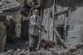 Dans un quartier détruit de Mossoul, le 29 juin.