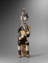 Galerie Afrique, Paris–arts d'Afrique subsaharienne– contact : Alain Dufour, alain.dufour@aa-galeries.com, tél. : 01-43-97-29-49 – expose à la Galerie 14, 14, rue des Beaux-Arts, Paris 6e.