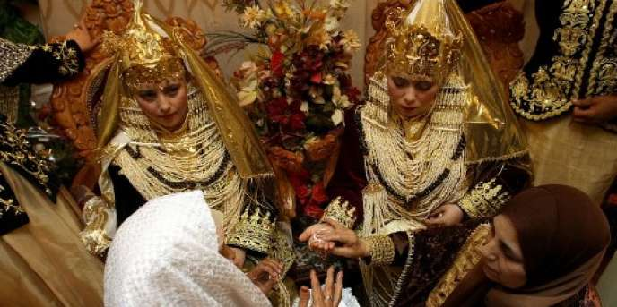 Un mariage en Algérie, en mai 2006.