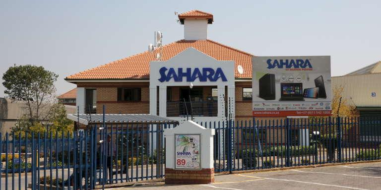 Le siège de Sahara computers, l'une des sociétés d'informatique de la famille Gupta, à Johannesburg.