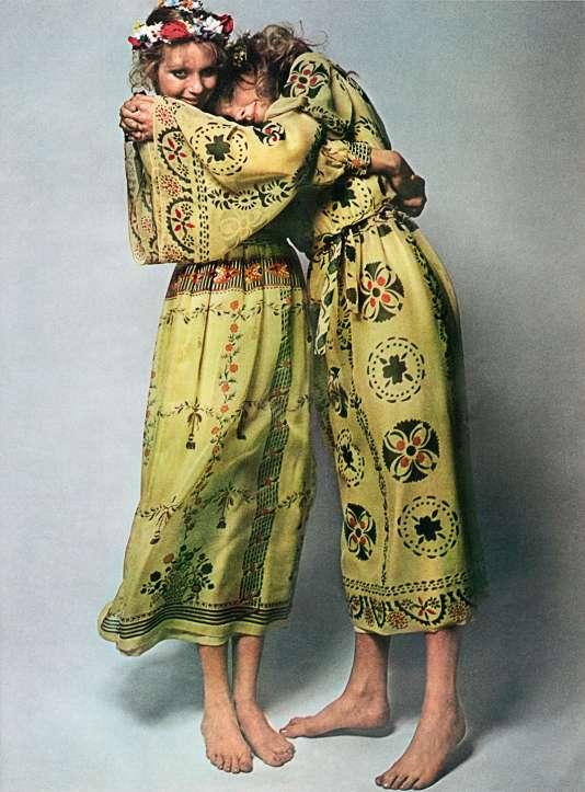 Collection printemps-été, Vogue, 1970