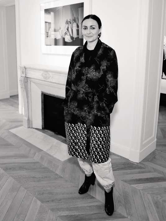 Judith Clark,commissaire del'exposition Chloé.