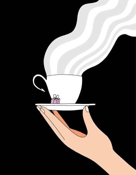 Le café est devenu un geste mécanique, comme le sourire-bonjour au supermarché.