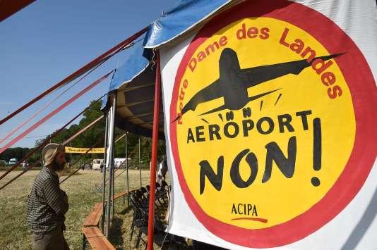 Hors de question pour ceux qui se battent depuis 2008 de laisser aboutir le projet d'aéroport du Grand-Ouest.