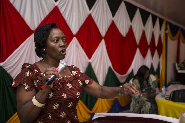 L'ancienne ministre de la justice (2005-2009) Martha Karua fut candidate à la présidentielle en 2013.