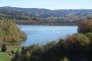 A Saint-Priest-la-Prugne (Loire), un plan d'eau artificiel de 20 hectares a été empli de 1,3 million de tonnes de résidus miniers.