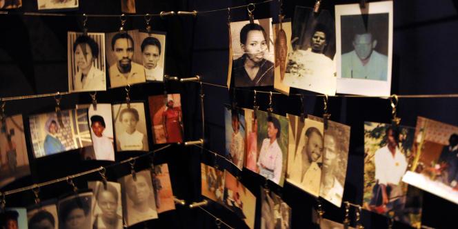 Au Mémorial du génocide rwandais, à Kigali. Plus de 800 000 Tutsi ont été tués en seulement cent jours, en 1994.