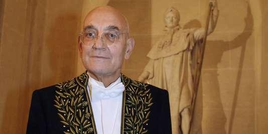 Max Gallo, le 31 janvier 2008.