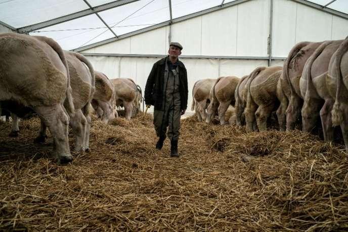 « Il faut faire en sorte que, demain, nous ne perdions plus de paysans », a plaidé Jérémy Decerle, des Jeunes agriculteurs, à la sortie de son entretien avec Emmanuel Macron, le 7août.