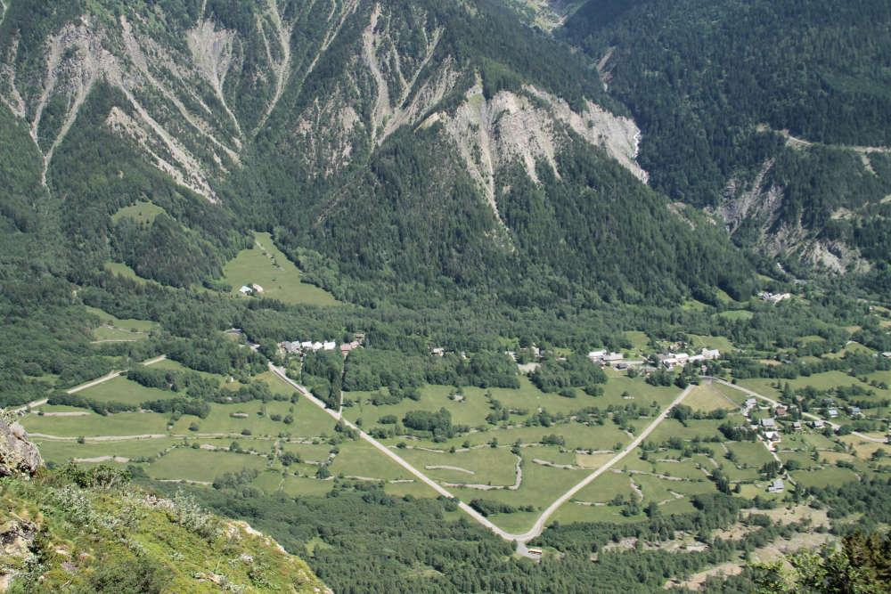 « Un chemin en Isère.»