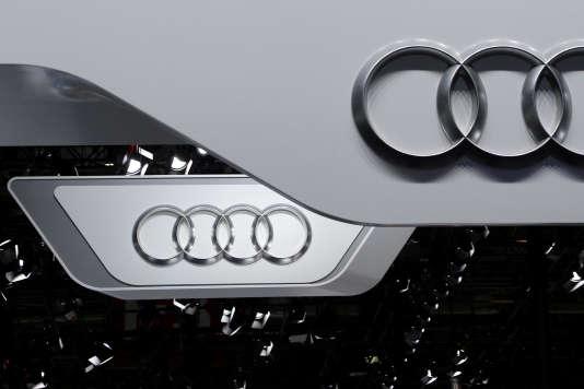 Une voiture du constructeur haut de gamme allemand Audi, le 15avril 2016, en Chine.