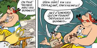 Un jeu de mots typiquement «goscinnien», trouvaille de Jean-Yves Ferri, dans cet extrait, publié en exclusivité, d'«Astérix et la Transitalique».