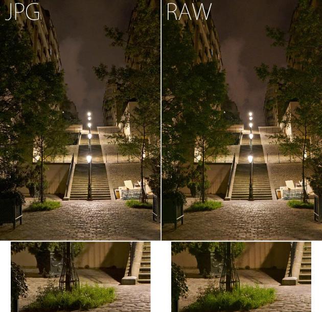 Les réflex de Sony accentuent plus fortement les JPG que les réflex Canon ou Nikon. Mais même chez Sony, l'accentuation demeure raisonnable, comme on le constate ici (Sony A7SII)