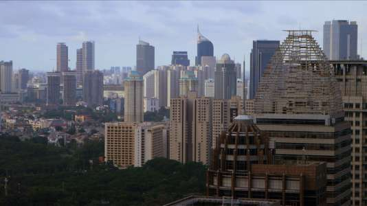 Jakarta, la capitale indonésienne