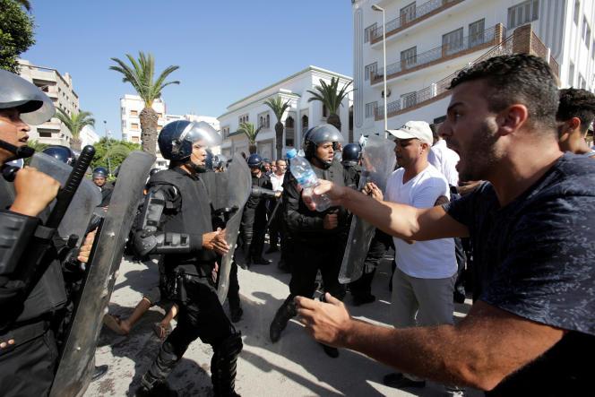 Manifestation à Al-Hoceima le 20 juillet.