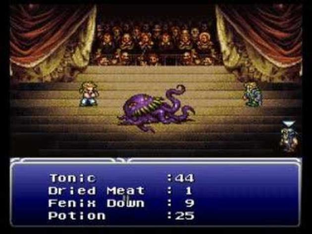 Ultros, un boss récurrent et particulièrement exhubérant de l'univers de «Final Fantasy».