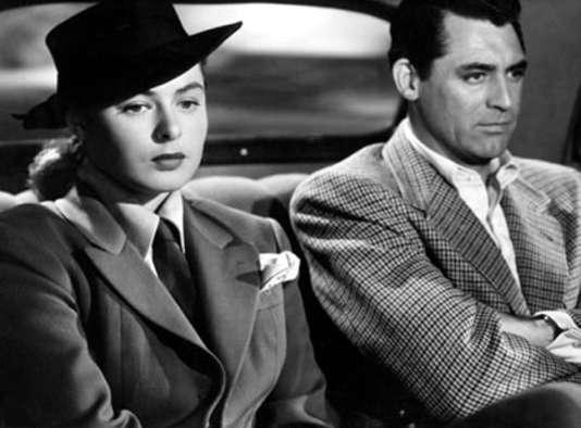 Ingrid Bergman et Gary Grant dans« Les Enchaînés» d'Alfred Hitchcock