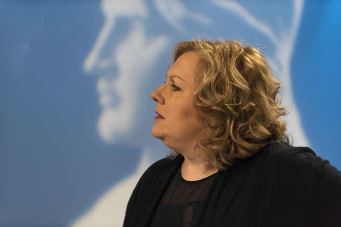 Sophie Montel, lors des élections régionales de, le 9 décembre 2015.