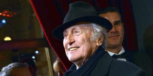 L'acteur Claude Rich lors de la 38ème cérémonie des Césars le 22 février 2013 au théâtre du Chatelet à Paris.