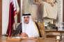 Le cheikh Tamim Ben Hamad Al-Thani, émir du Qatar, à Doha, le 21 juillet.